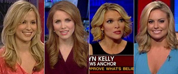 Fox news anchors females