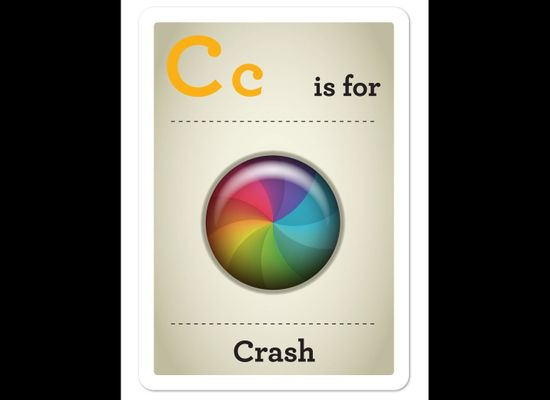 Hipster Baby Flash Cards By Emma Cook Teach The ABC's Of