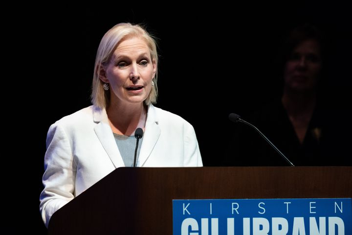 Sen. Kirsten Gillibrand (D-N.Y.) endorsed four of the anti-IDC challengers running for the New York State Senate.