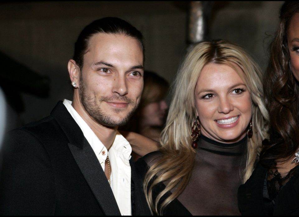 Britney Spears kept her hair long and mostly blonde throughout her two-year marriage to Kevin Federline, her back-up dancer/r