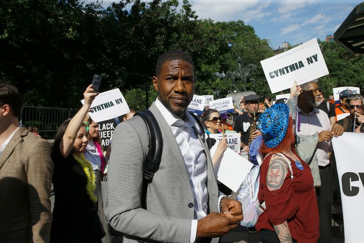Jumaane Williams very nearly upset Kathy Hochul in the New York primary for lieutenant governor.