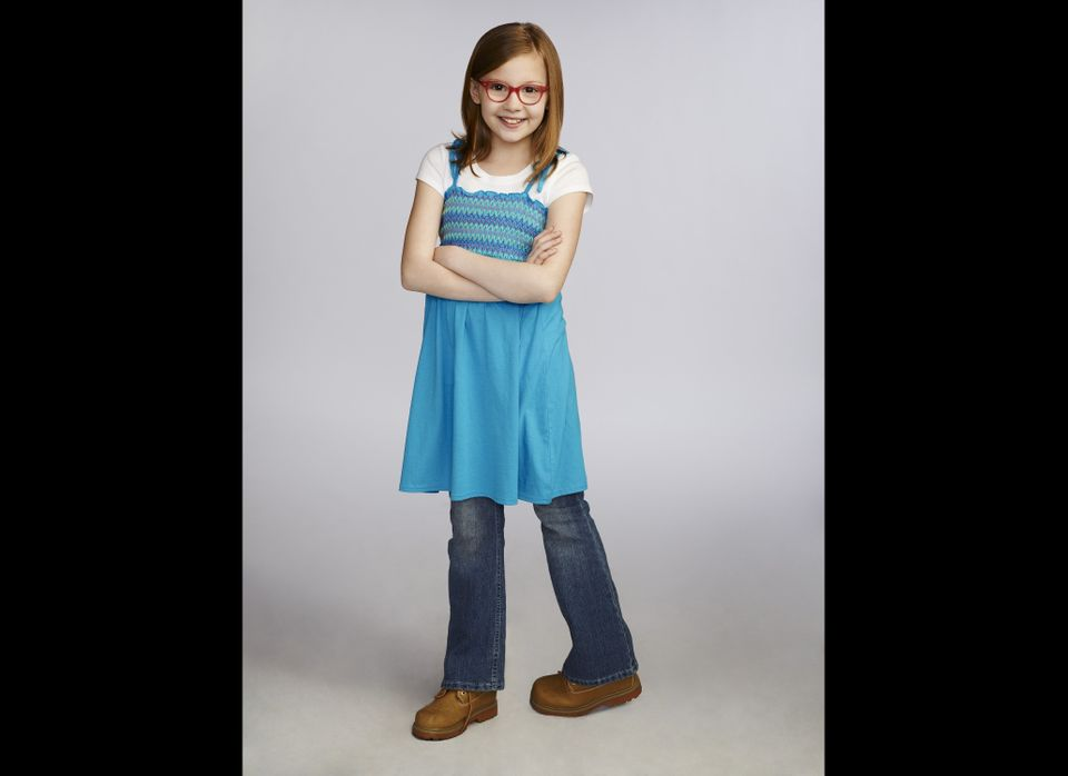 At just 11 years old, Bebe Wood is a scene-stealer in this very mature new show. She plays Shania, the wise-beyond-her-years