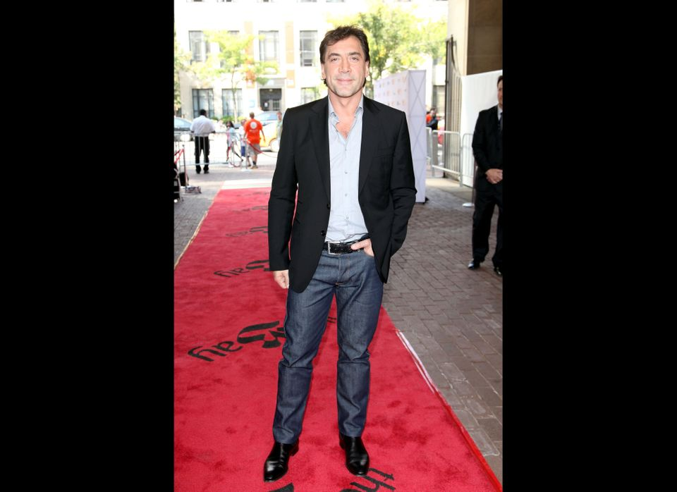 Actor/ Producer Javier Bardem attends the 'Sons Of The Clouds: The Last Colony' premiere during the 2012 Toronto Internationa