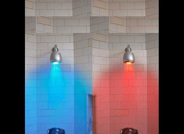 "Interesting lighting isn't just for bedrooms and living rooms, you know. This <a href=""http://www.wowcoolstuff.com/Temperatur"