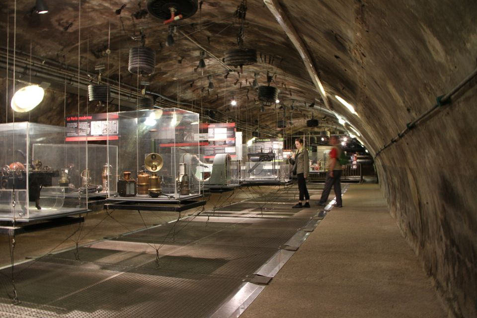 """This museum is an <a href=""""http://www.paris.fr/loisirs/musees-expos/musee-des-egouts/p9691"""">ode to Paris' sewage system</a>."""