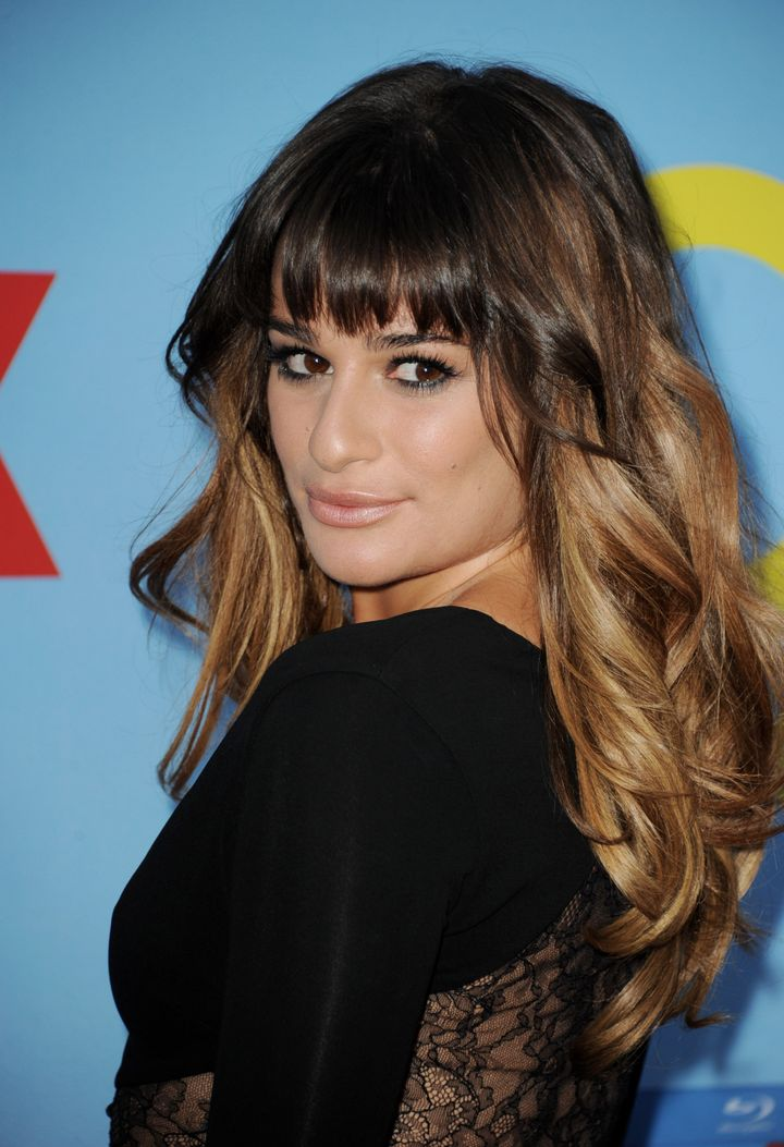 Stupendous Lea Michele Is The Next Face Of Loreal Huffpost Life Natural Hairstyles Runnerswayorg