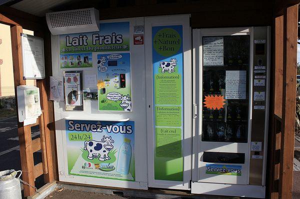 "<a href=""http://modernfarmer.com/2014/03/americans-envy-europes-raw-milk-vending-machines/"" target=""_blank"">Unpasteurized dai"