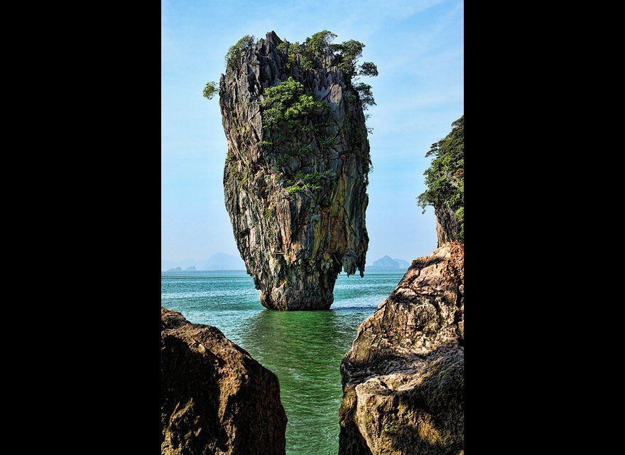 Even if you've never seen a James Bond film in your life you probably know this location which served as Scaramanga's hideout