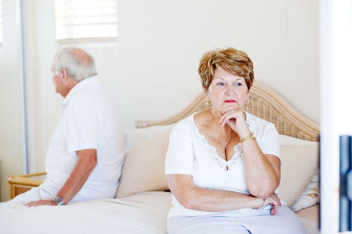 elderly couple relationship issue