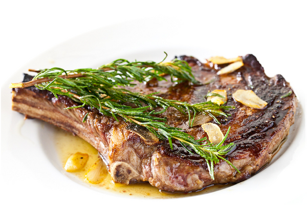 "<strong>Get the <a href=""http://www.steamykitchen.com/16463-rosemary-garlic-steak.html"" target=""_blank"">Rosemary Garlic Steak"