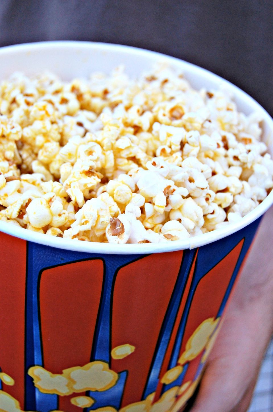What's harder to digest: (1) Movie theater popcorn has an average markup of 1,275 percent, or (2) With a soda, that popcorn h