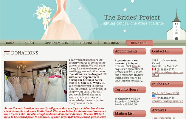 Wedding Dress Donation.Donate Your Wedding Dress 5 Charities That Accept Used Wedding