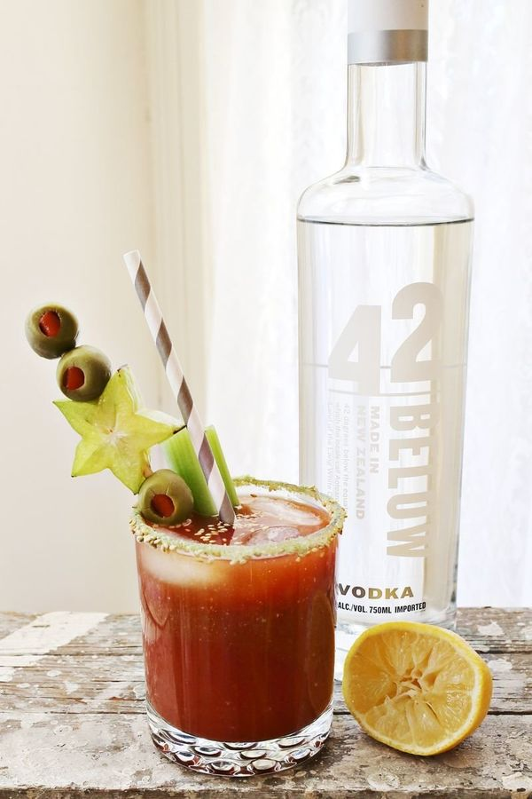 """<strong>Get the <a href=""""http://www.abeautifulmess.com/2013/01/wasabi-bloody-mary.html"""" target=""""_blank"""">Wasabi Bloody Mary re"""