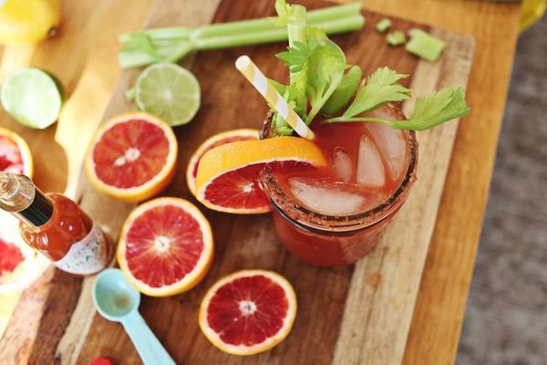 """<strong>Get the <a href=""""http://www.abeautifulmess.com/2013/01/blood-orange-bloody-mary.html"""" target=""""_blank"""">Blood Orange Bl"""