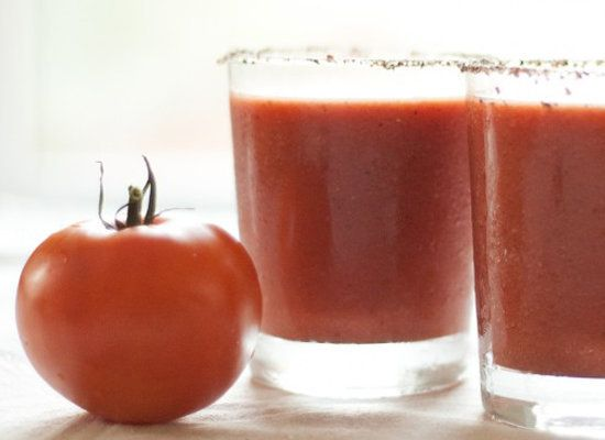 """<strong>Get the <a href=""""http://cookieandkate.com/2011/fresh-bloody-mary/"""">Frozen Bloody Mary recipe</a> from Cookie + Kate</"""