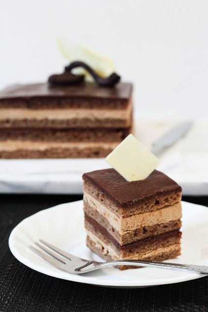"<strong>Get the <a href=""http://this-is-irene.blogspot.com/2013/02/classic-opera-cake.html"">Opera Cake recipe</a> by {a swoon"