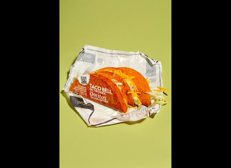 <strong>The Method:</strong> The one that started it all uses a proprietary taco shell-shaped Doritos chip as its wrapper, an