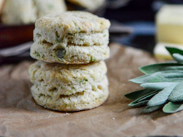 """<strong>Get the <a href=""""http://www.howsweeteats.com/2013/11/sage-butter-biscuits/"""" target=""""_blank"""">Sage Butter Biscuits reci"""