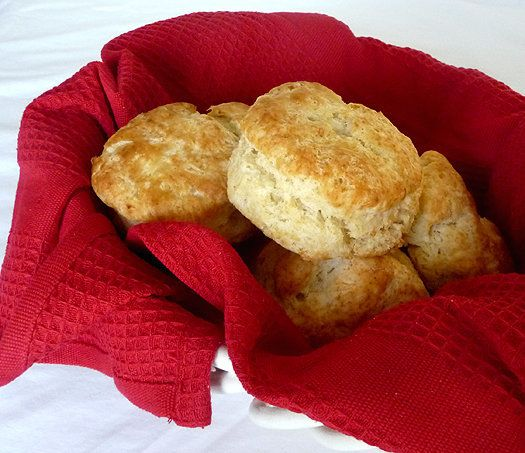 """<strong>Get the <a href=""""http://www.browneyedbaker.com/2010/05/27/buttermilk-biscuits/"""" target=""""_blank"""">Buttermilk Biscuits r"""