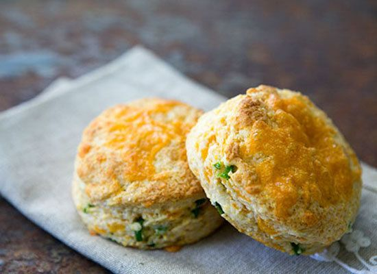 """<strong>Get the <a href=""""http://www.simplyrecipes.com/recipes/cheddar_and_jalapeno_biscuits/"""">Cheddar and Jalapeño Biscuits r"""