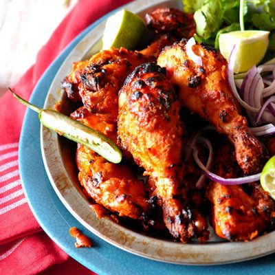 """<strong>Get the <a href=""""http://www.simplyreem.com/from-my-kitchen/?p=885"""">Tandoori Chicken</a> recipe from Simply Reem</stro"""