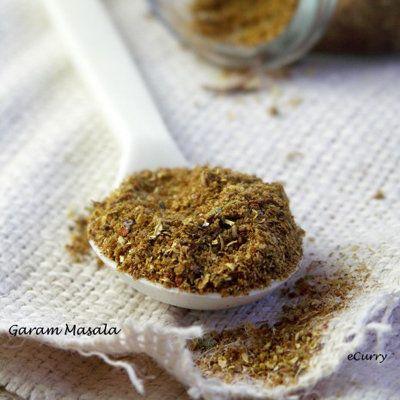 """<strong>Get the <a href=""""http://www.ecurry.com/blog/indian/indian-kitchen-basics/garam-masala/"""">Garam Masala</a> recipe from"""