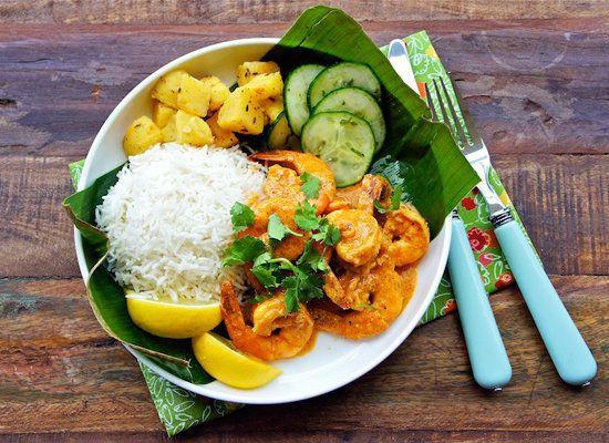 "<strong>Get the <a href=""http://www.seasaltwithfood.com/2011/06/goan-prawn-curry.html"">Goan Shrimp Curry</a> recipe from Seas"
