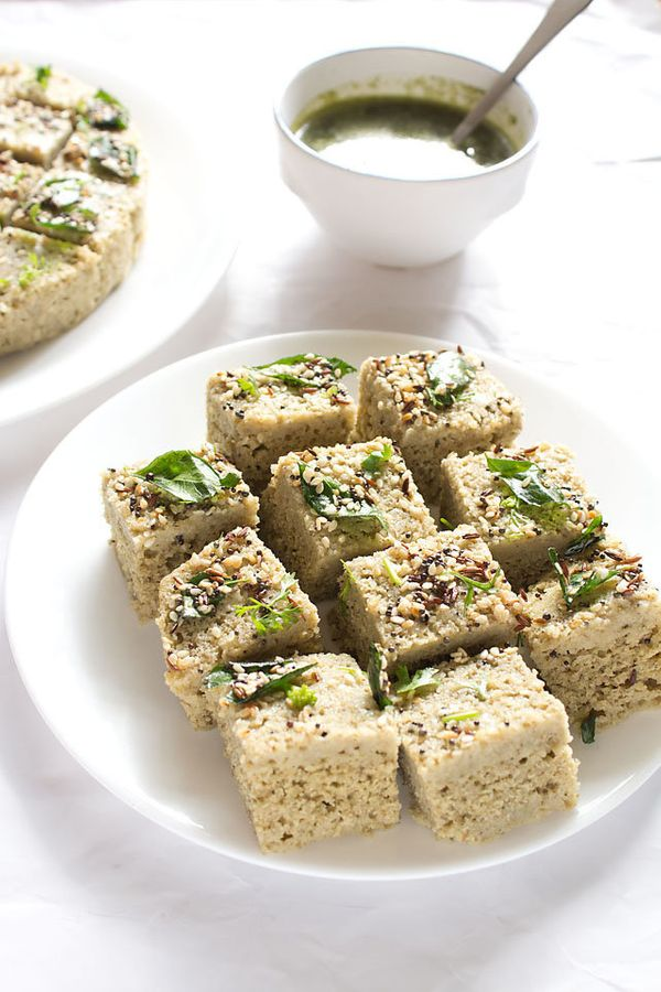 """<strong>Get the <a href=""""http://www.vegrecipesofindia.com/moong-dal-dhokla-recipe/"""">Moong Dal Dhokla</a> recipe from Veg Reci"""