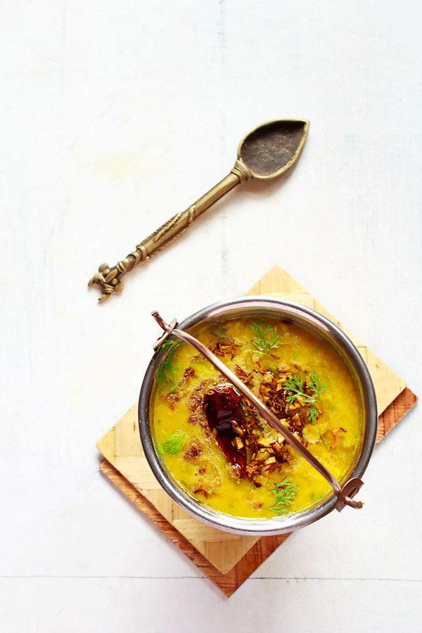 "<strong>Get the <a href=""http://www.vegrecipesofindia.com/restaurant-style-dal-tadka/"" target=""_blank"">Dal Tadka</a> recipe f"