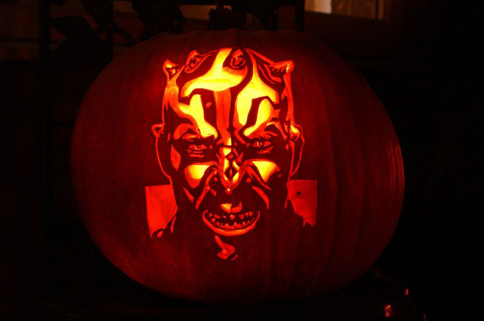 17 Pumpkin Carving Ideas From Hello Kitty To Hunger Games Photos Huffpost Life
