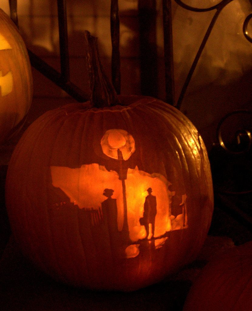 Pumpkin carving ideas from hello kitty to hunger games
