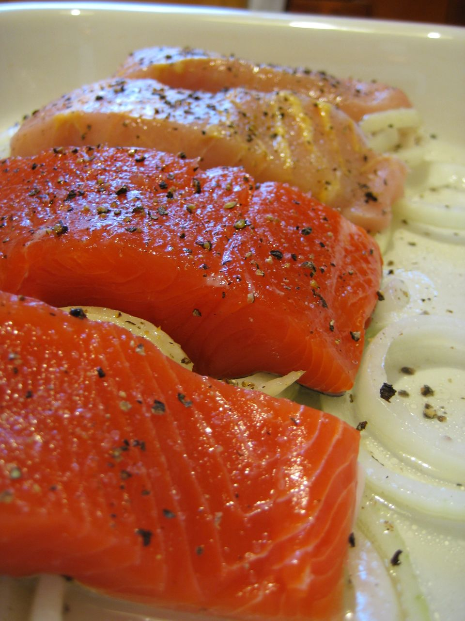 There are a number of seafood options with a hearty dose of vitamin D. Salmon is high on the list; three ounces of canned soc