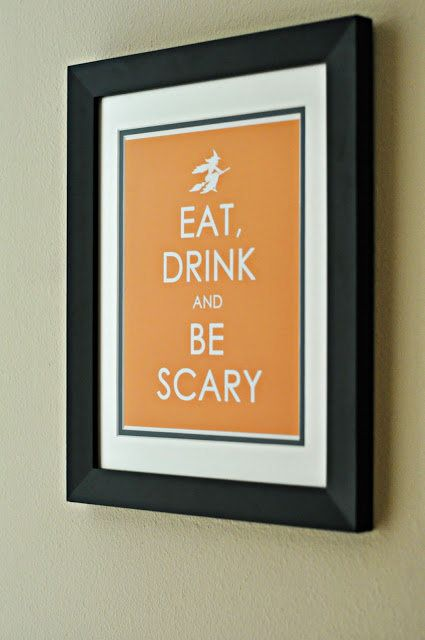 We've seen this popular phrase altered in so many different ways, so it seems only natural to find a Halloween version. It's