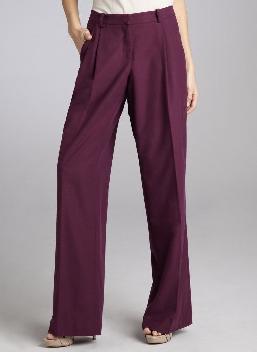 "<a href=""http://www.bluefly.com/robert-rodriguez-berry-felt-pleated-wide-leg-pants/PRODUCT_FEED/318274501/detail.fly?referer="