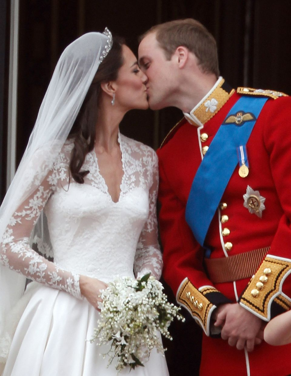 Married at Buckingham Palace on April 29, 2011.