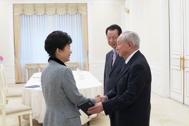 맨 오른쪽이 김장환