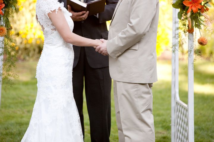Getting Married At An Outdoor Wedding Ceremony