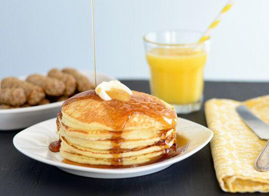 "<strong>Get the <a href=""http://www.beckybakes.net/2012/09/28/best-ever-gluten-free-pancakes/"">Best Ever Gluten-Free Pancakes"