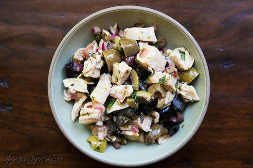 "<strong>Get the <a href=""http://www.simplyrecipes.com/recipes/mediterranean_chicken_salad/"" target=""_blank"">Mediterranean Chi"