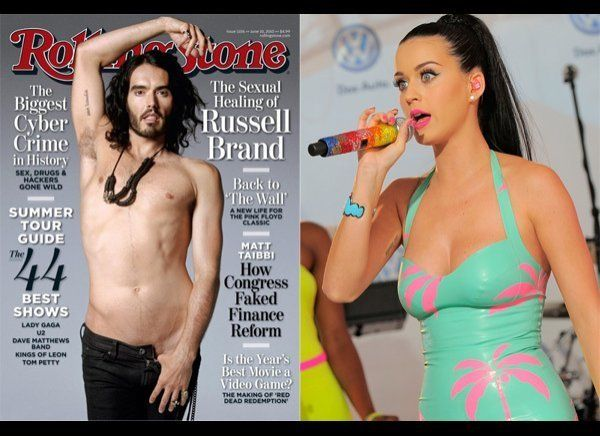"""Russell Brand has reportedly <a href=""""http://www.huffingtonpost.com/2012/03/26/russell-brand-removes-matching-katy-perry-tatt"""