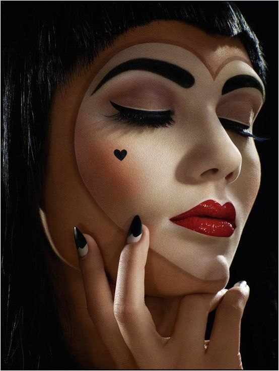 Last Minute Halloween Makeup Ideas From Pinterest Photos Huffpost Life
