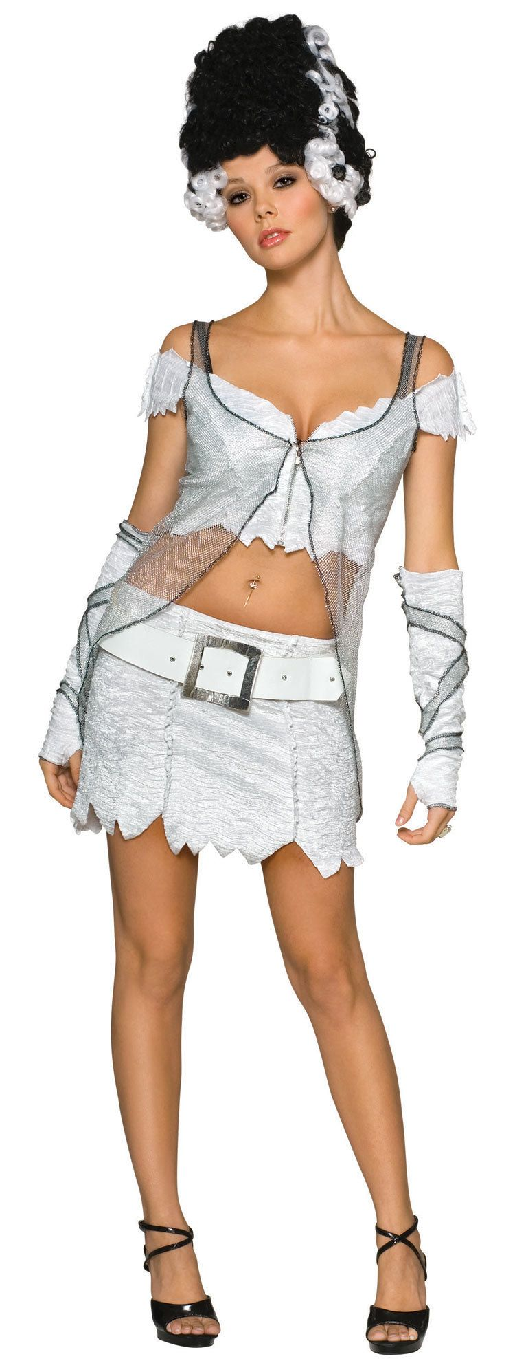 "Sexy <a href=""http://www.costumecraze.com/SA714.html"">Bride of Frankenstein</a>, anyone?"