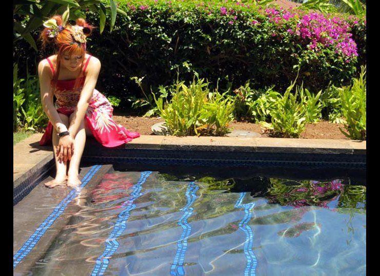 """I swam under the stars in my <a href=""""http://www.drhmaui.com/wailea-beach-villas/maui-luxury-villas.php"""" target=""""_hplink"""">Wai"""