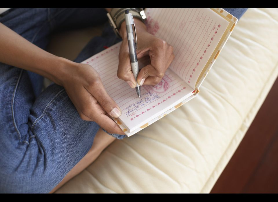 """Write down three new things you are <a href=""""http://www.psychologytoday.com/basics/gratitude"""" target=""""_hplink"""">grateful</a> f"""