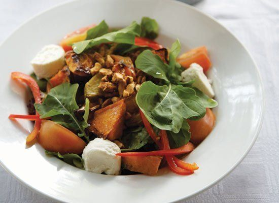 """<strong>Get the Recipe for <a href=""""http://www.huffingtonpost.com/2011/10/27/nutty-sweet-potato-butte_n_1057642.html"""" target="""