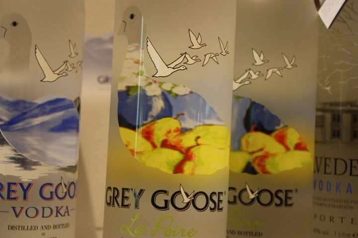 Category:Grey Goose vodka bottles.