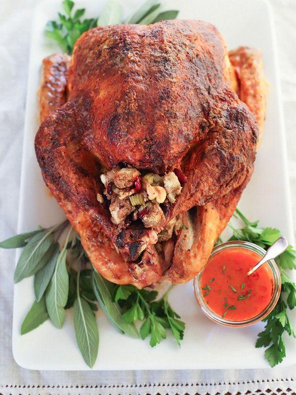 "<strong>Get the <a href=""http://www.foodiecrush.com/2014/11/buffalo-roasted-turkey/"" target=""_blank"">Buffalo Roasted Turkey r"
