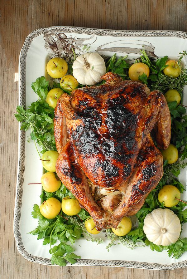 """<strong>Get the <a href=""""http://boulderlocavore.com/2014/11/white-wine-ginger-thyme-brined-roast-turkey.html"""" target=""""_blank"""""""