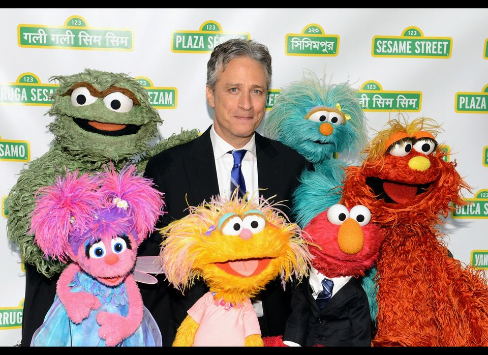 NEW YORK, NY - MAY 30:  Jon Stewart attends the Sesame Street Workshop 10th Annual Benefit Gala at Cipriani 42nd Street on Ma