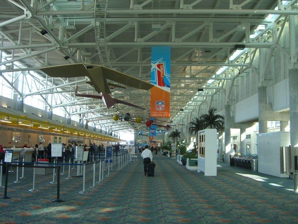 10) Fort Lauderdale-Hollywood International Airport